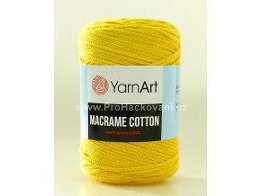 Macrame Cotton 764 žlutá