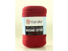 Macrame Cotton 781 bordó