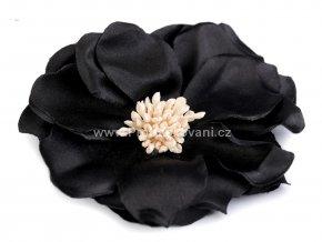 Květ Ø 75 mm černý