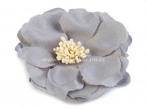 Květ Ø 75 mm šedý