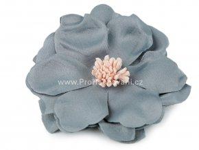 Květ Ø 75 mm šedomodrý