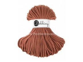 Bobbiny šňůry 5 mm rezavá ( Terracotta )