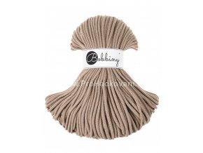 Bobbiny šňůry 5 mm pískové ( Sand )