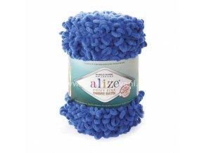 Puffy Fine Ombre Batik 7280 nebesky modrá