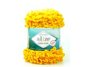 Puffy Fine Ombre Batik 7278 žlutá
