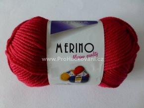 Příze Merino 14811 malinová