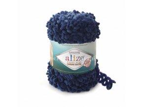 Puffy Fine Ombre Batik 7266 tmavě modrá