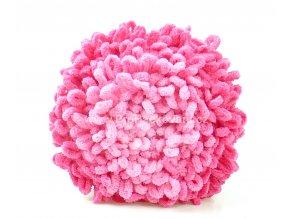 Puffy Fine Ombre Batik 7279 růžová