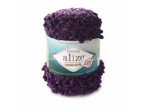 Puffy Fine Ombre Batik 7277 fialová