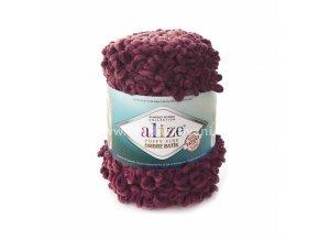 Puffy Fine Ombre Batik 7276 růžově starofialová