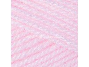 příze Baby 853 pastelově růžová