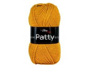 příze Patty 4489 hořčicově zlatá