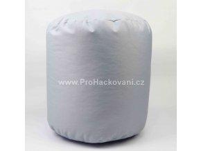 Vnitřní vak do pufu 38x30 cm světle šedý