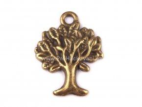 Přívěsek strom starozlatý