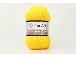 příze Baby 32 slunečnicově žlutá