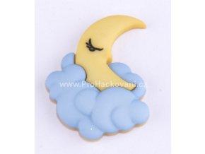 Knoflík exclusive Měsíc spící