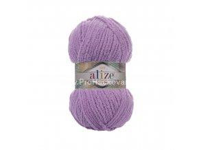 příze Softy Plus 47 fialková