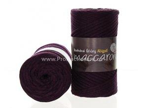 šňůry Abigail 3 mm 15-506 švestkově fialové