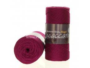 šňůry Abigail 3 mm 40-506 fuchsiově fialové