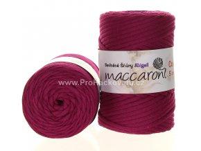 šňůry Abigail 5 mm 45-506 fuchsiově fialové