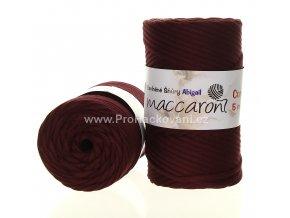 šňůry Abigail 5 mm 42-806 fialově vínové