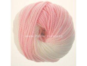 příze Mary Color 88272 růžová melange