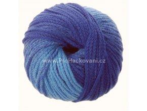 příze Mary Color 88275 modrá melange