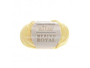 příze Merino Royal 187 světle žlutá