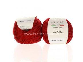 příze Bambino Lux Cotton 70330 tmavší červená