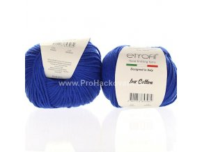 příze Bambino Lux Cotton 70525 modrá