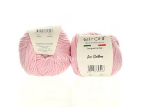 příze Bambino Lux Cotton 70324 světle růžová
