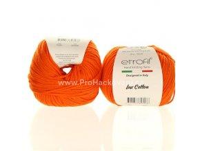 příze Bambino Lux Cotton 70220 oranžová