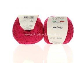 příze Bambino Lux Cotton 70326 fuchsiově růžová