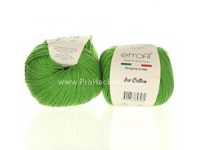 příze Bambino Lux Cotton 70413 zelená