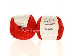 příze Bambino Lux Cotton 70328 červená