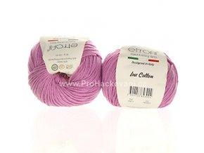 příze Bambino Lux Cotton 70611 růžová lila