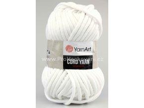 Cord Yarn 751 bílá