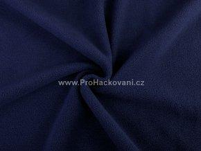 latka fleece tmave modra