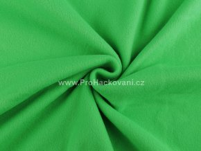 latka fleece travove zelena