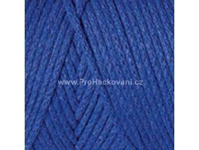 Macrame Cotton 786 modrá