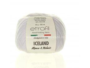 příze Iceland 70027 bílá