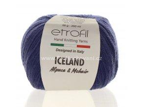 příze Iceland 70533 modrá