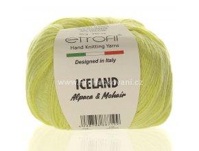příze Iceland 1002 světle žlutá