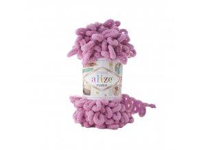 příze Puffy 98 fialkově růžová