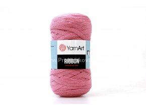 Ribbon Yarn Art starorůžová