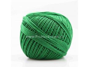 Háčkovací příze Sněhurka 6184 zelená