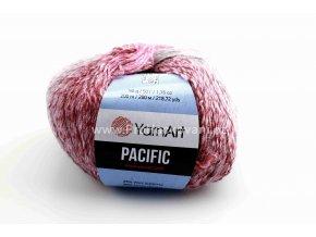 příze Pacific 310 růžová, vínová, šedá