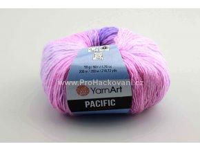 příze Pacific Chunky 306 růžová a fialková