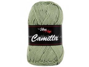 Příze Camilla 8166 světlá olivově zelená
