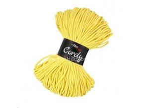 šňůry Cordy 3 mm žluté